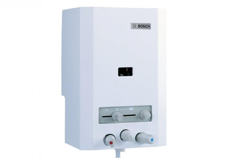 Bosch Therm 4000 OC W 125 V2P Piezo Gyújtású Konyhai Átfolyós Gáz Vízmelegítő Csapteleppel (ERP)