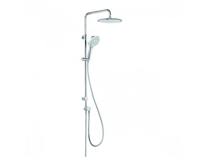kludi dual shower system rg p. Black Bedroom Furniture Sets. Home Design Ideas