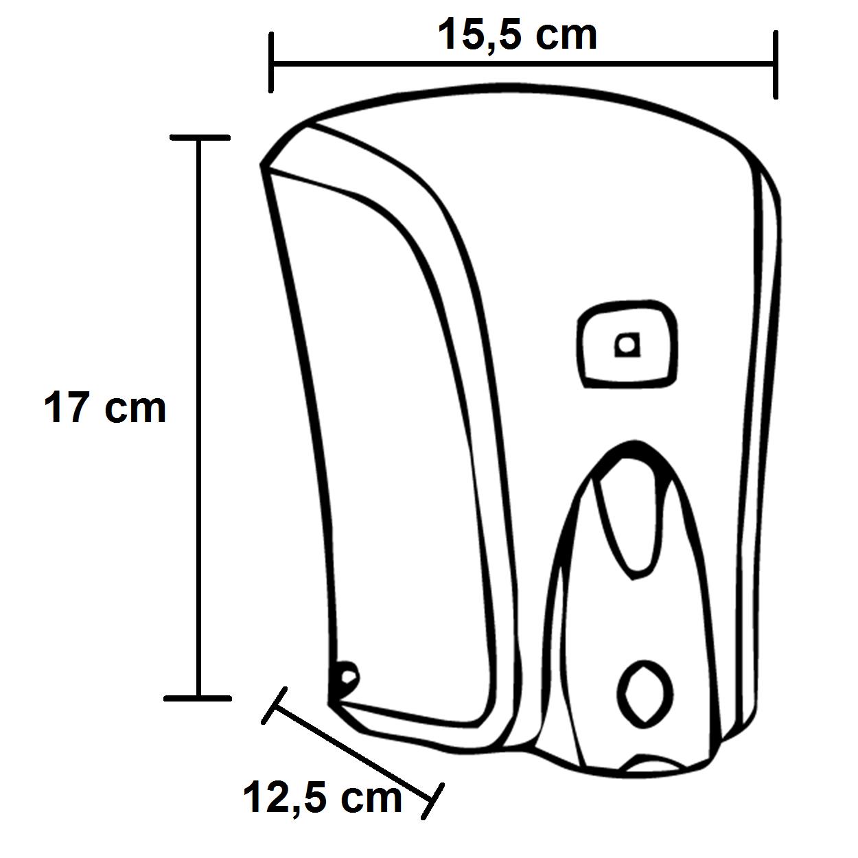 RAMI-3036 Szappanadagoló ABS 1000 ml műszaki adatlap
