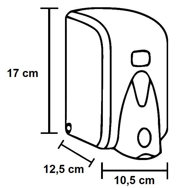 RAMI-3038 Szappanadagoló ABS 500 ml műszaki adatlap