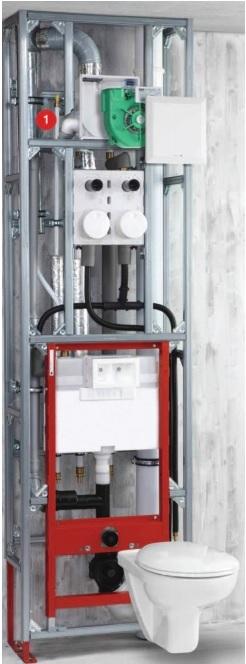Helios ELS-WCS WC csatlakozó készlet ELS-hez (H00008191) műszaki adatlap