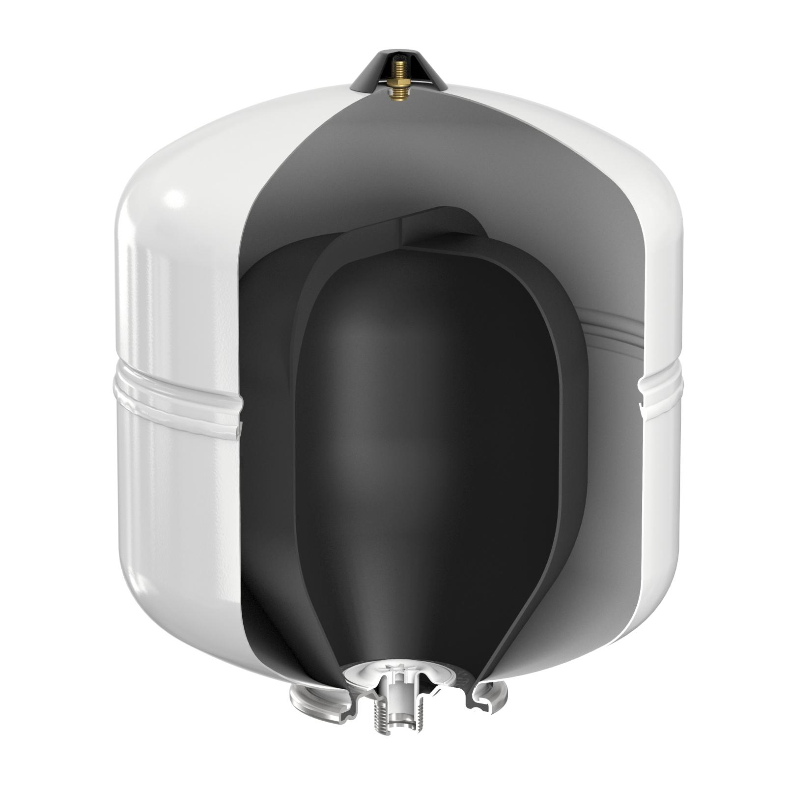 Flamco Flofix 35 Ivóvizes tágulási tartály lábakkal 35 literes 10 bar (25294) robbantott ábra