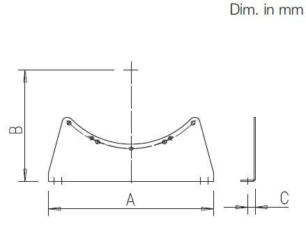 Helios MF 100 Szerelőkeret M1/100 ventilátorhoz (H00006188) műszaki adatlap