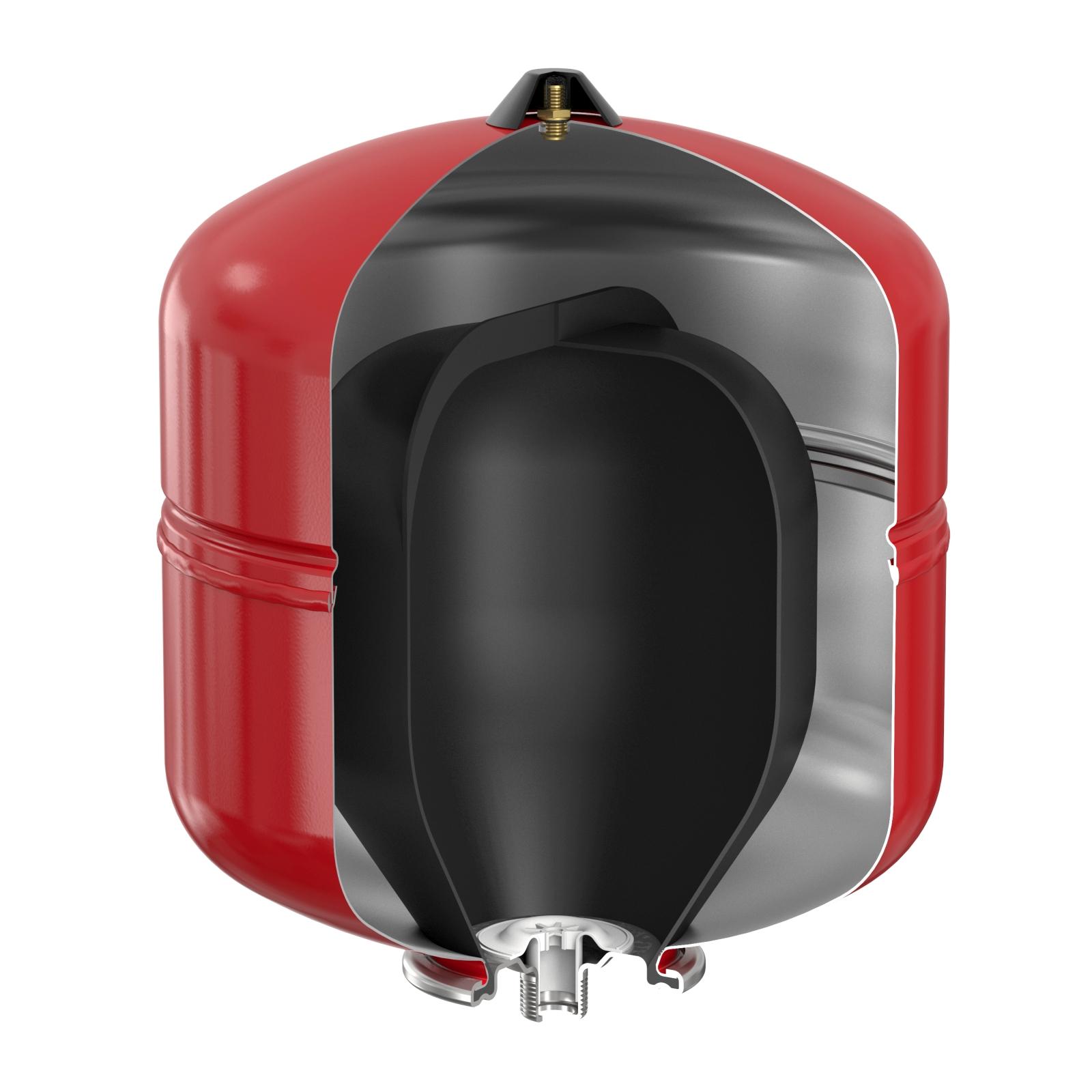 Flamco Baseflex fűtési tágulási tartály 35/1,5 bar álló (25305) robbantott ábra